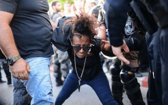 Israel Solomon Tekah protest 0011