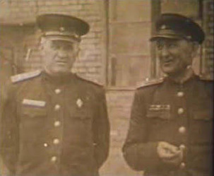 Yuri Bezmenov's father(Left)