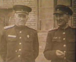 Yuri Bezmenov's father(Left)