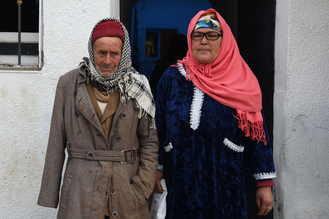 Anis Amri father (L) & mother(R)