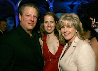 Al Gore & Kristin & Tippa