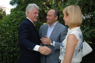 Viktor Pinchuk & Bill Clinton