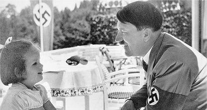 Hitler & girl 0032