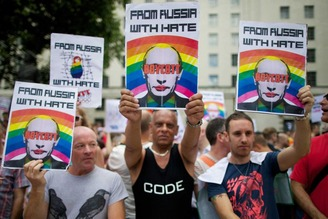Gays in Russia 1