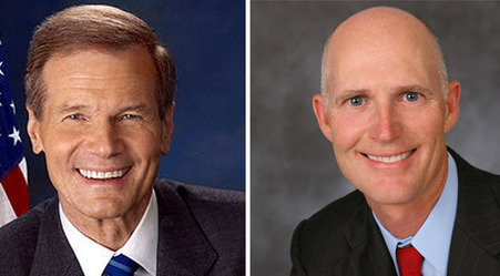 Rick Scott & Bill Nelson 1