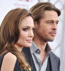 Brad Pitt & Jolie 1