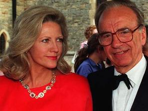 Rupert Murdoch & Anna Maria Torv 2