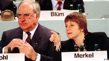 Angela Merkel & Kohl 2
