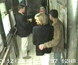 Diana inside Ritz Hotel