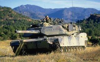 M1 Abrams Battle Tank 1