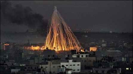 Israel white phosphorus 2