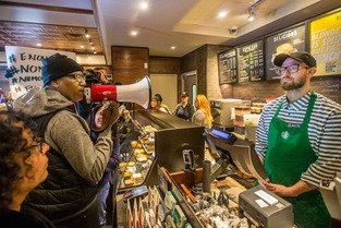 starbucks protest 3