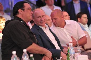 Steven Seagal & Putin 3