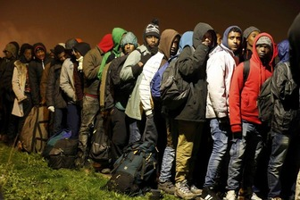 Refugees in Calais France