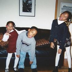 Eddie's kids shayne-myles-bria