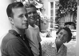 Bush George & son & Barbara