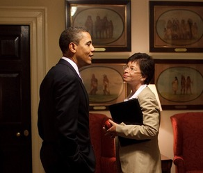 Valerie Jarrett & Obama