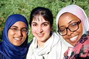Muslim studnets at Cambridge Univ