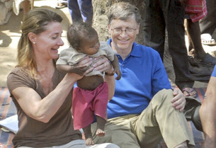 Bill Gates in Africa 4