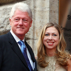 Chelsea Clinton & Bill