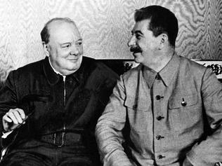 Winston Churchill & Stalin 111