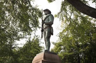 Charlottesville Confederate Soldier