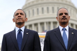 Eric Holder & Obama 11