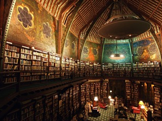 Library at Oxford