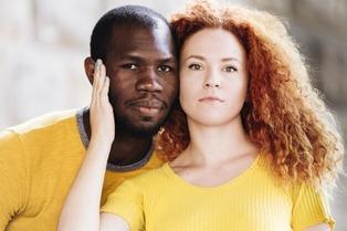 Interracial couple 12