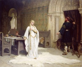 Lady Godiva by Edmund Blair Leighton