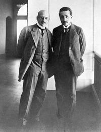 Fritz Haber & Einstein 1