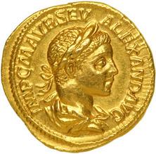 Roman coin Severus Alexander