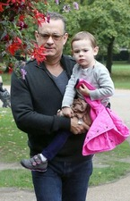 Tom Hanks & Olivia 1