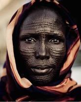 African Dinka tribe 4