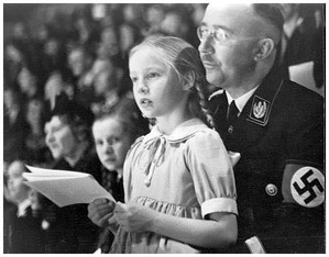 Himmler & daughter 1