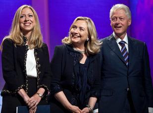 Bill Hillary Chelsea Clinton 1