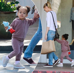 Paige Butcher & daughter 1