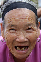 Chinese old woman 3