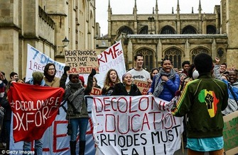 Oxford student protest 1