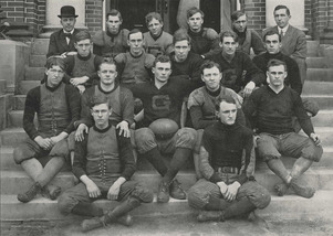 football players of Univ of Georgia 1909