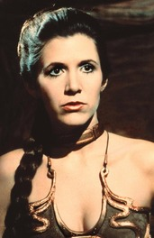 Star Wars Leia Carrie Fisher 1