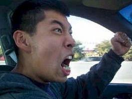 Korean angry driver