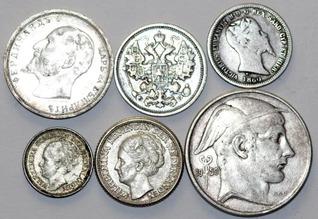 silver coins 33