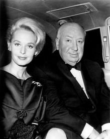 Alfred Hitchcock & Tippi