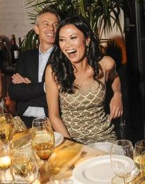 Wendi Deng & Tony Blair 11