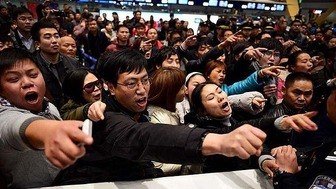 Chinese crowd 1