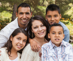 Hispanic family 1