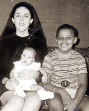 Obama and Mom