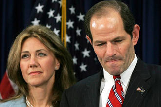 Eliot Spitzer & wife 2