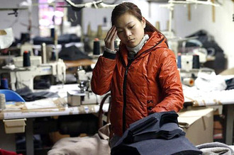 Chinese workers in Italy